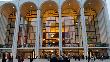 Metropolitan Opera House. Photo: Met Opera